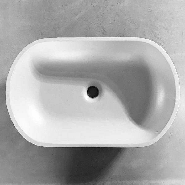 Kaarla Oval Concrete Basin
