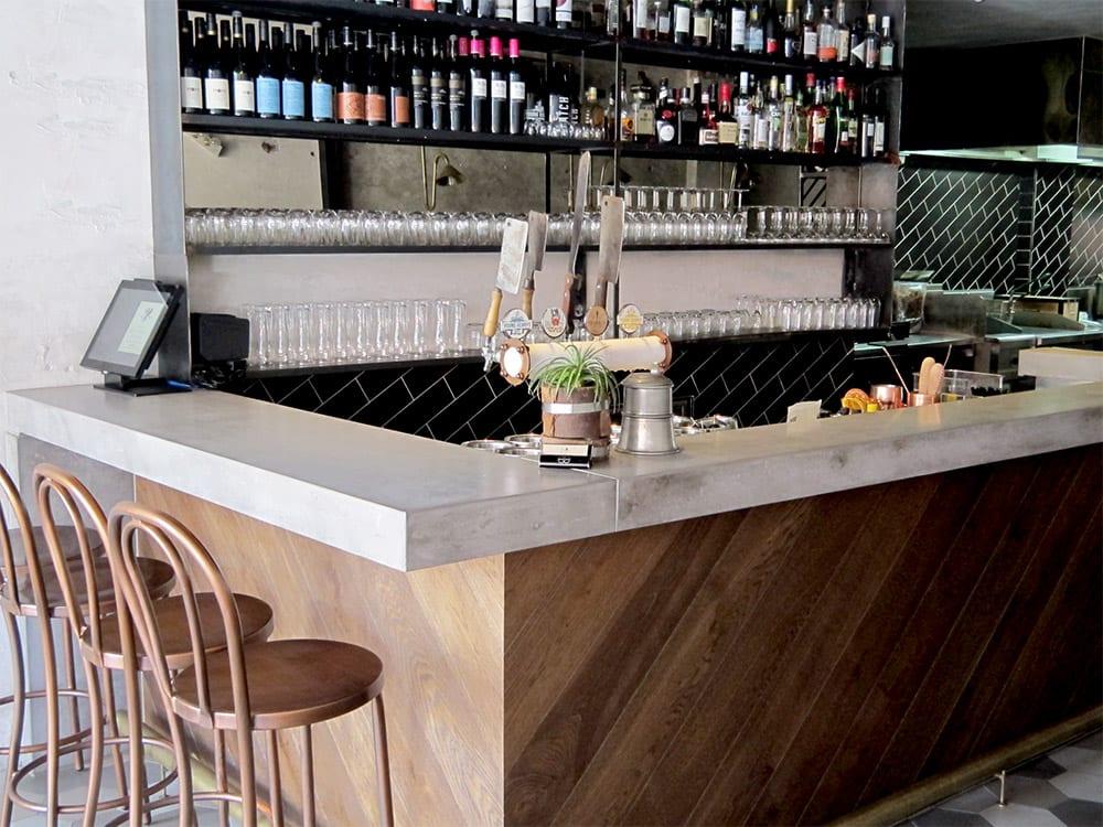 Concrete Bar at The Butchers Apprentice Sydney - by Concrete Studio
