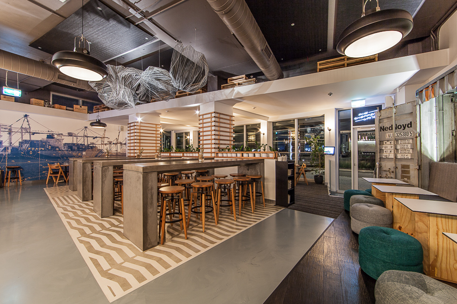 Concrete High Tables at The Shipping Lane - by Concrete Studio.jpg
