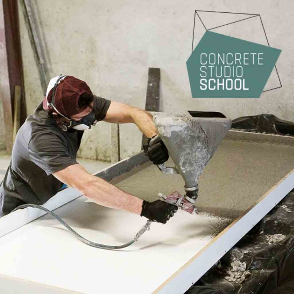 Concrete Studio GFRC School home page image