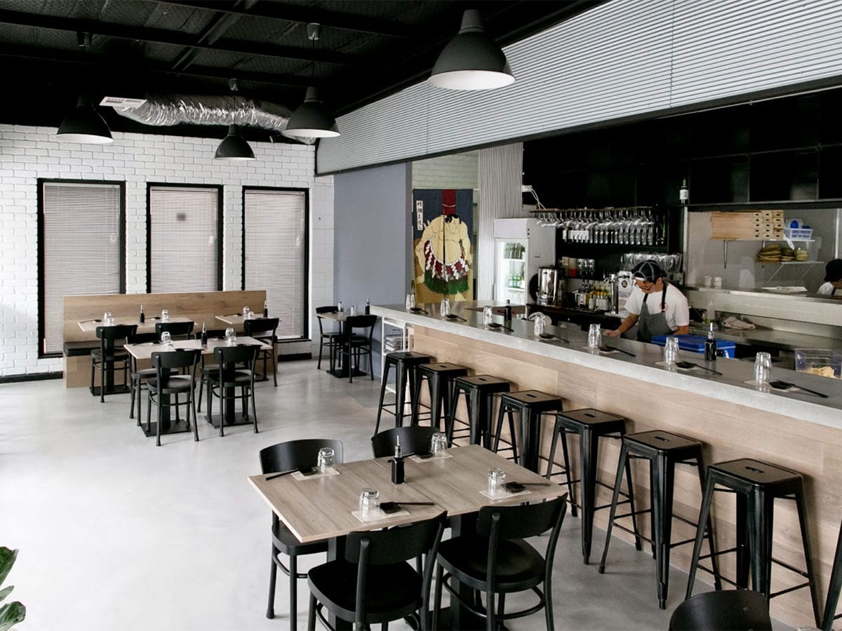 Concrete Sushi Bar at The Modern Eatery - By Concrete Studio