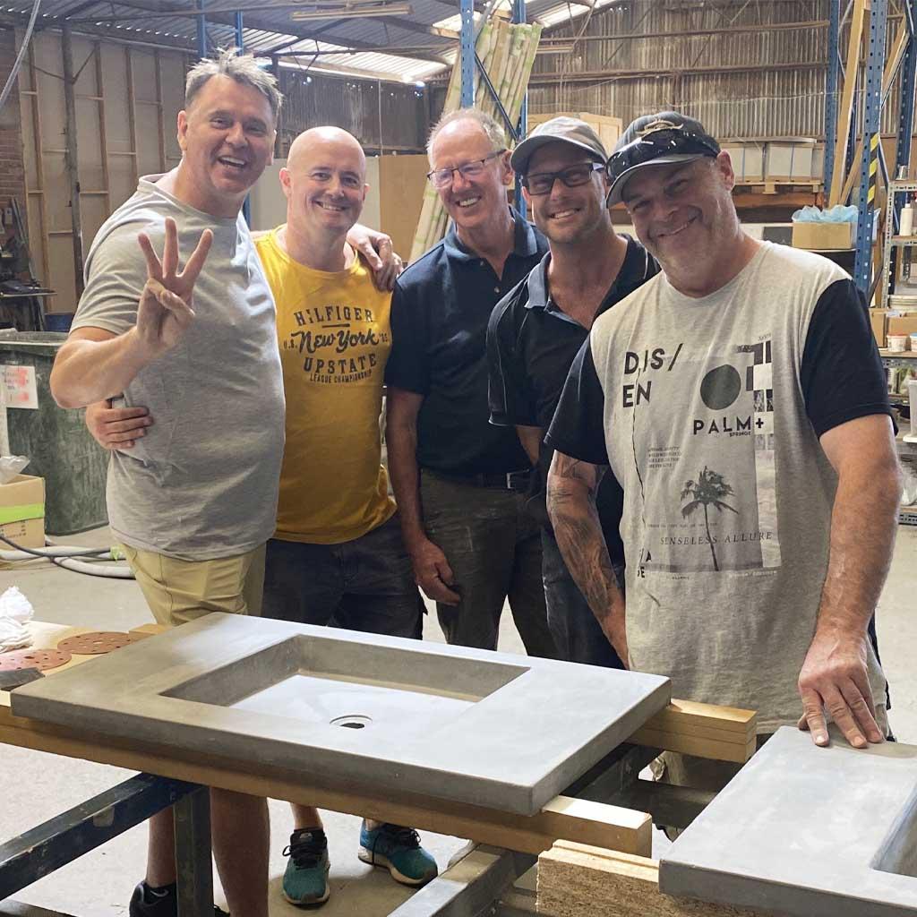 Concrete Studio School Group Photo